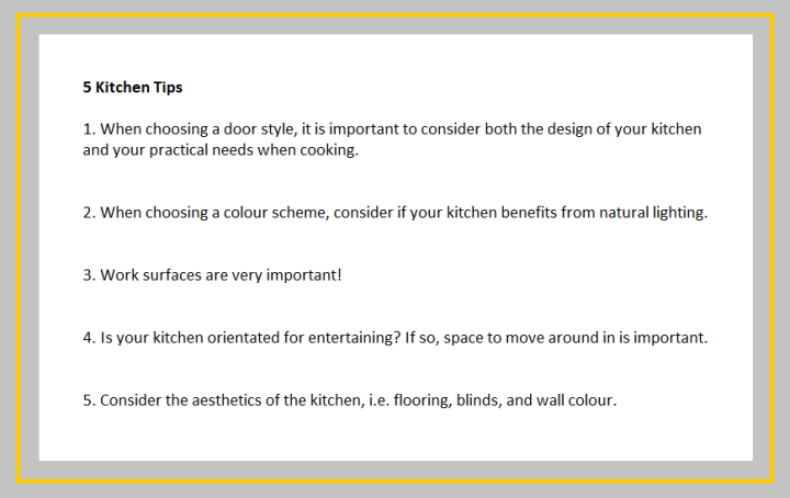 kitchen tips 2